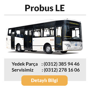 BMC Probus LE Otobüs Yedek Parça ve Servisi