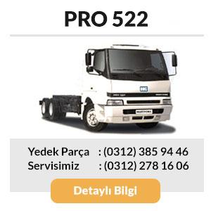 BMC Pro 522 Kamyon Yedek Parçaları ve Servisi
