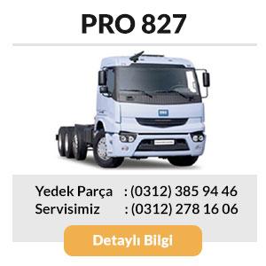 BMC PRO 827 Yedek Parçaları ve Servisi