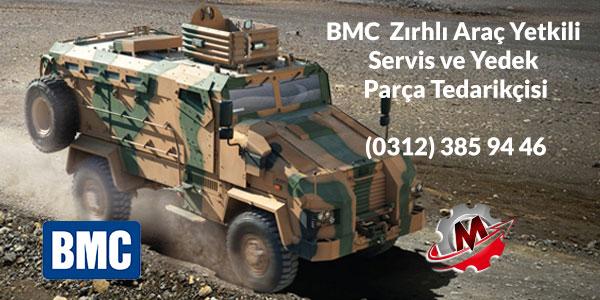 BMC Zırhlı Araç Servisi